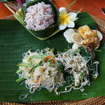 Rice plate, Bali
