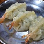 Dumplings with shrimps