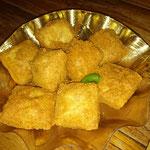Fritierte Tofu nach Sunda Art