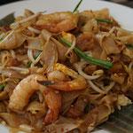 Kuetiau, gebratene Reisnudeln, Malaysisches Gericht