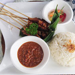 Satay menu, Bali