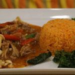 Rice with Pad Kra Pao