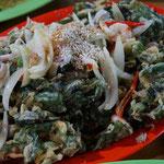 Gemüse fritiert