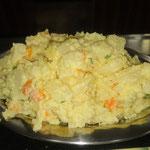 Hausgemachte Kartoffelsalat