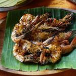 BBQ prawn, Bali