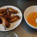 Chicken wings Vietnamese style