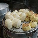 Pao, Teigtaschen gefüllt mit Fleisch oder ohne Füllung