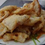 Knusprig fritierte dünne Schweineschnitzel