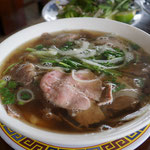Pho - vietnamesische Nudelsuppe