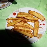 Cassava deep fried