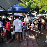 Lokaler Wochenendmarkt (Local weekend market), Darwin