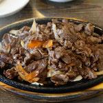 Bulgogi, Rindfleisch gebraten, koreanisches Essen