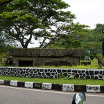 Japanischer Bunker aus dem Zweiten Weltkrieg - Japanese fort from the second World war