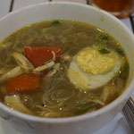 Soto Ayam, Hähnchen Curry suppe