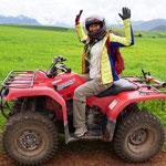 Quad Fahrt (ATV ride)