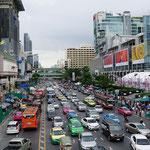 Overcrowded street