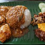 Reistafel, Malaysisches Gericht