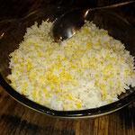 Reis mit Mais, Flores