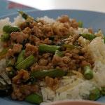 Pad Kra Pao, my favourite Thai dish