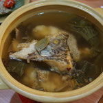 Fish head soup, Bali