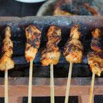 Chicken satay, Bali