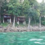 Unser Unterkunft auf der Insel - Our hat on the island