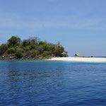 Vogel Insel im Norden von Labuhan Bajo (Bird island, North of Labuhan Bajo)