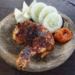 Hähnchenschenkel gegrillt, Bali