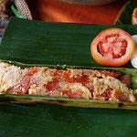 Fisch gedämpft mit Tomaten, Bali