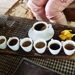Verschieden Kaffee und Tee Sorten, Bali