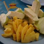 Ananas und Guave