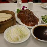 Pekingente Menü