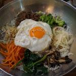 Bibimbap, koreanisches Essen