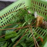 Verschiedene Beilagen für Sichuan Hot Pot