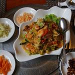 Seafood salad, cold. Vladivostok, Pyongyang