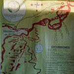 Karte von der Umgebung (Local area map)