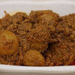 Rendan, Indonesian beef curry with potato