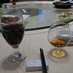 Cognac und Tee