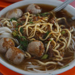 Bakso, beef meat ball noodle soup