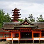 Tempelanlage Insel Miyajima
