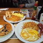 Breakfast at Denny´s