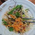 Vegetarian cold noodle