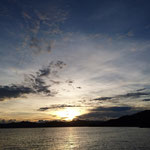 Sonnenuntergang in Raja Ampat (Sun set in Raja Ampat)