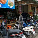 Motor bike garage of Nudengs husband