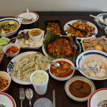 Indonesian and other Asian dishes