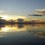 Sonnenuntergang am Amzonas (Sunset at Amazon)