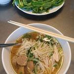 Homemade Vietnamese Pho noodle