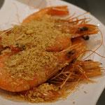 Krabben fritiert