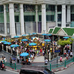 At Ratchaprasong junction