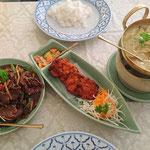 Thai Essen, unser Heiligabend Gericht